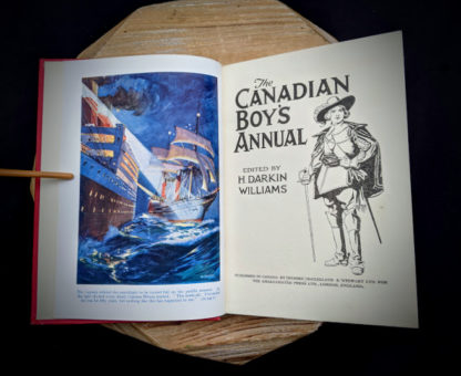 Title page - The Canadian Boys Annual - edited by Williams H. Darkin - Undated