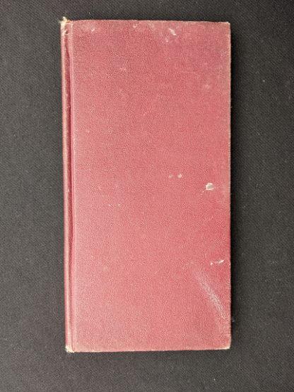 backside of a 1914 Hungarian Bible - A SZÁZADOK LATKÉPE VAGY - A TEREMTÉS MÜVE KÉPEKBEN
