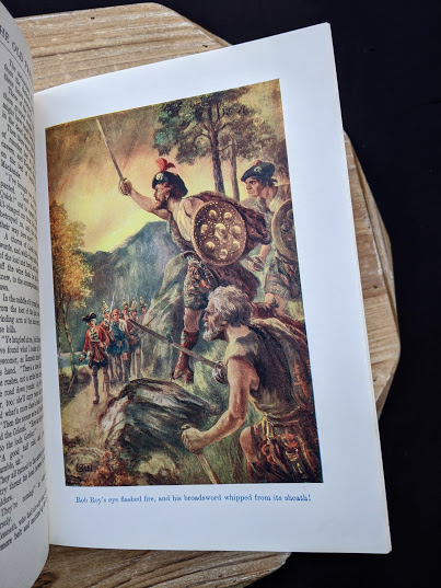 colour illustration inside a copy of The Canadian Boys Annual - edited by Williams H. Darkin - Undated