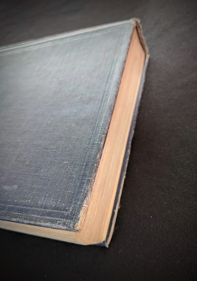head edge of the textblock - 1948 Steam, Air And Gas Power by Severns And Degler 4th Edition
