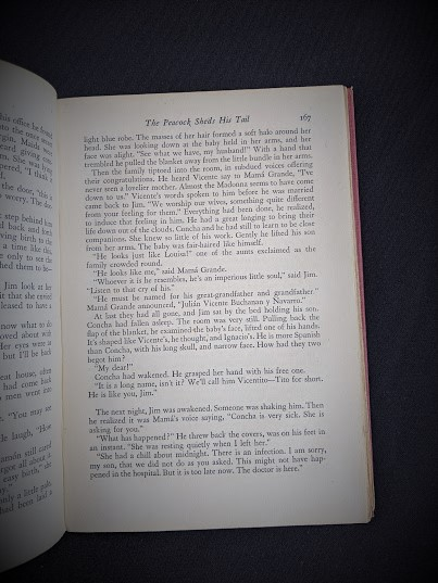 page 167 - 1945 First Edition The Peacock Sheds His Tail by Alice Tisdale Hobart