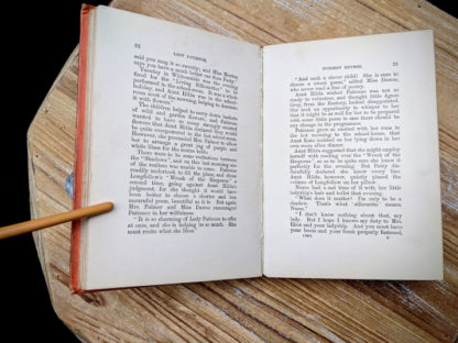 pages inside an Undated copy of Lady Patience - A Story for Girls by F.S. Hollings - Blackie and Sons Limited - Undated