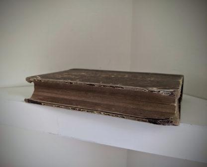 textblock view on a 1870 copy of Sämtliche Werke - Heinrich Heine - German Book