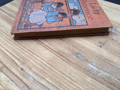 view of the textblock on an Undated copy of Lady Patience - A Story for Girls by F.S. Hollings - Blackie and Sons Limited