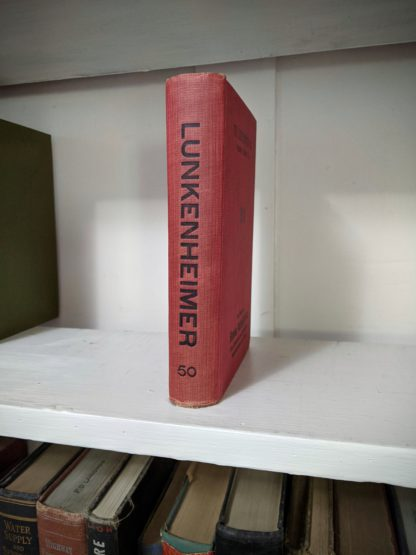 1912 Lunkenheimer Co Illustrated Catalogue and Price List - catalogue 50