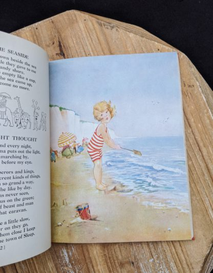 At the Seasisde - illustration by Eulalie - 1932 A Childs Garden of Verses by Robert Louis Stevenson - popular edition