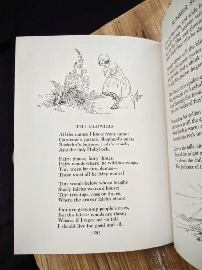 The Flowers - 1932 A Childs Garden of Verses by Robert Louis Stevenson - popular edition