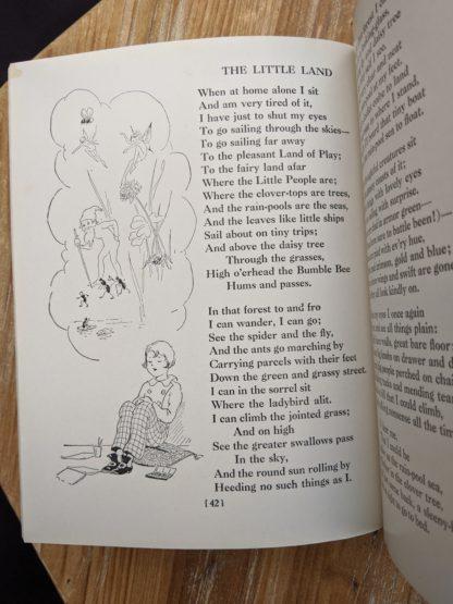 The Little Land - 1932 A Childs Garden of Verses by Robert Louis Stevenson - popular edition