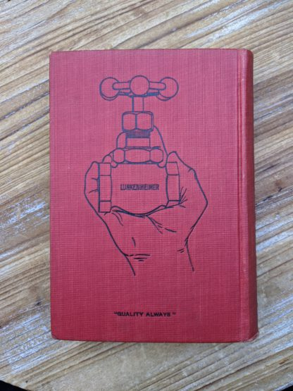 backcover - 1912 copy of The Lunkenheimer Company Catalogue Number 50