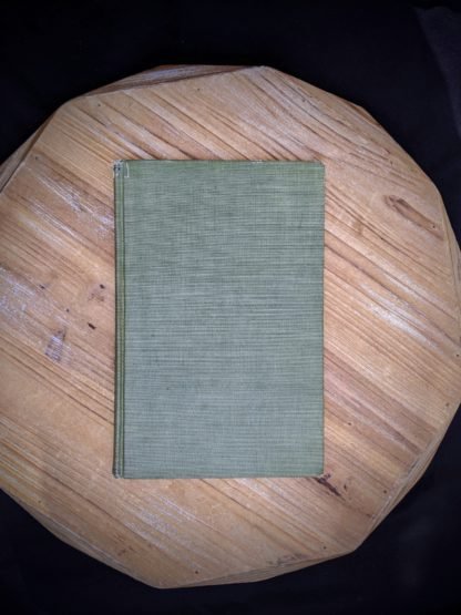 backside of a 1900 copy of Mosses with a Hand-Lens - A Non - Technical Handbook of the More Recognized Mosses of the North-Eastern United States - By A J Grout