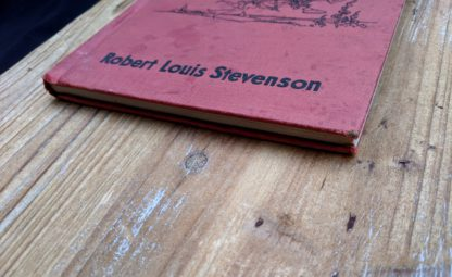 bottom edge view on a 1932 copy of A Childs Garden of Verses by Robert Louis Stevenson - popular edition