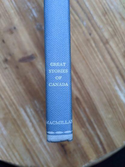 lower spine view - 1960 The Salt Water Men - Canadas Deep Sea Sailors by Joseph Schull