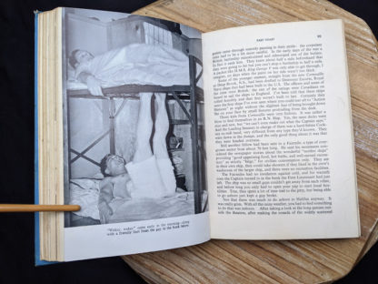 photograph inside a 1946 copy of Saints Devils and Ordinary Seamen Life on the Royal Canadian Navys Lower Deck -second printing