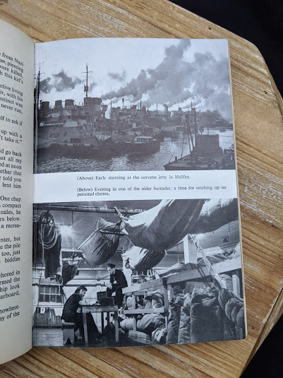 photograph of the Jetty in Halifax - Saints Devils and Ordinary Seamen Life on the Royal Canadian Navys Lower Deck - 1946 second printing