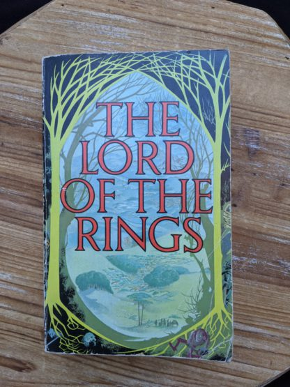 1975 The Lord of the Rings by J. R.R. Tolkien fifteenth impression - uncommon copy
