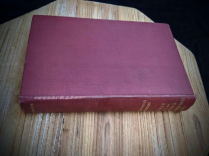 Aerial spine edge view -1930 copy of The Philosophical Theory of the State by Bernard Bosanquet - signed by H. S. Harris