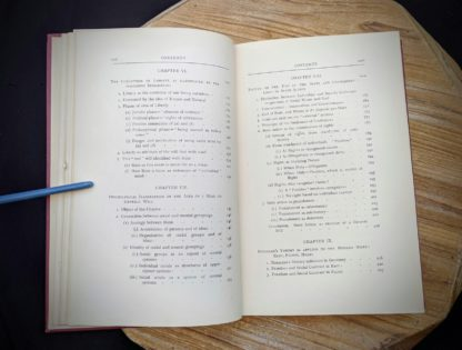 Table of Contents image 3 of 4 - 1930 copy of The Philosophical Theory of the State by Bernard Bosanquet