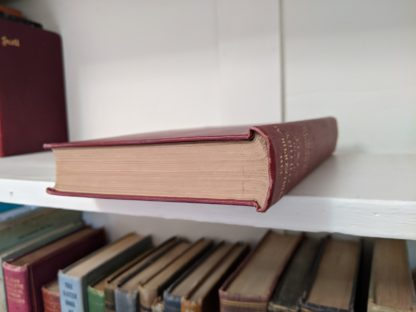 Top edge of the textblock - 1930 copy of The Philosophical Theory of the State by Bernard Bosanquet - signed by H. S. Harris