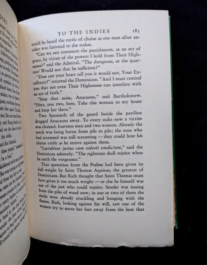 1940 To the Indies by C.S. Forester - First Canadian Edition - published by S.J. Reginald Saunders - page 183