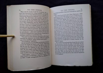 1940 To the Indies by C.S. Forester - First Canadian Edition - published by S.J. Reginald Saunders - page 82 and 83