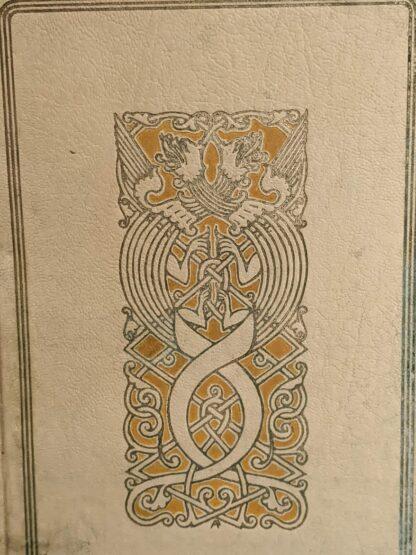 1935 De Weg tot Elkander by Trygve Gulbranssen - third book of the trilogy - First Edition - blind stamp up close