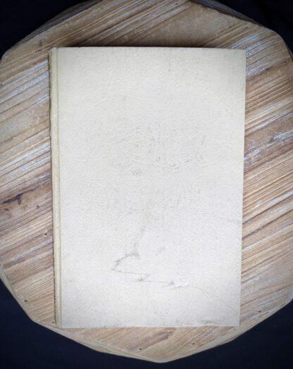 backside of book - 1935 De Weg tot Elkander by Trygve Gulbranssen - third book of the trilogy - First Edition