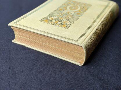 top edge of textblock - 1935 De Weg tot Elkander by Trygve Gulbranssen - third book of the trilogy - First Edition