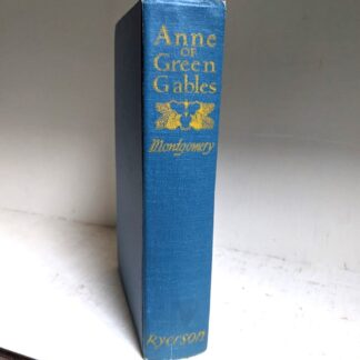 1948 Anne of Green Gables by Montgomery published by Ryerson Press