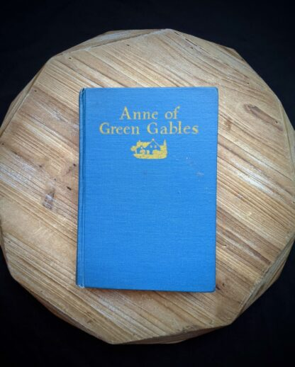1948 Anne of Green Gables by Montgomery published by Ryerson Press - front cover view