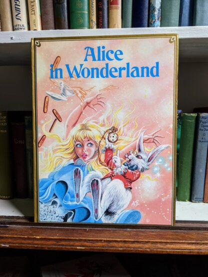 1985 Alice in Wonderland - Ottenheimer Publishers - Printed in Italy - Title page