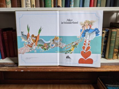 Title page - 1985 Alice in Wonderland - Ottenheimer Publishers - Printed in Italy - import of Gallery Books