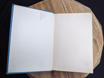 front endpaper and pastedown inside a 1948 copy of Anne of Green Gables by Montgomery published by Ryerson Press