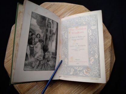 1903 First edition copy of The Golden Windows - A Book Of Fables For Young And Old - Title page and frontispiece