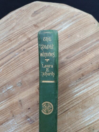 1903 The Golden Windows - A Book Of Fables For Young And Old - Spine View