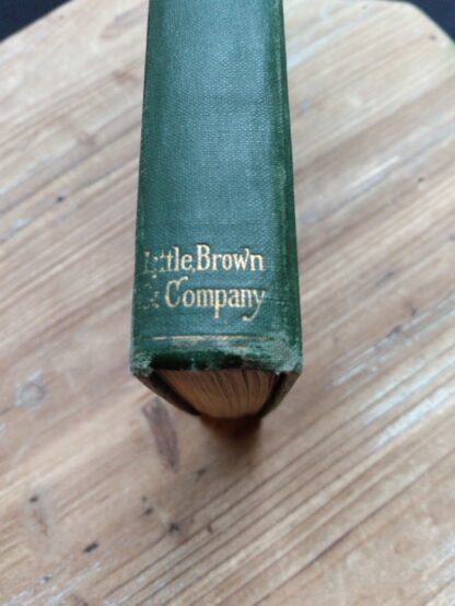 Foot of Spine on a 1903 First edition copy of The Golden Windows - A Book Of Fables For Young And Old