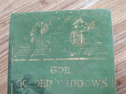 Front Panel on a 1903 First edition copy of The Golden Windows - A Book Of Fables For Young And Old