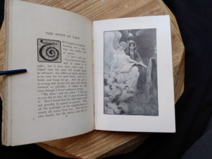 beautiful plate illustration inside a 1903 First edition copy of The Golden Windows - A Book Of Fables For Young And Old
