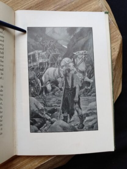black and white plate inside a 1903 First edition copy of The Golden Windows - A Book Of Fables For Young And Old