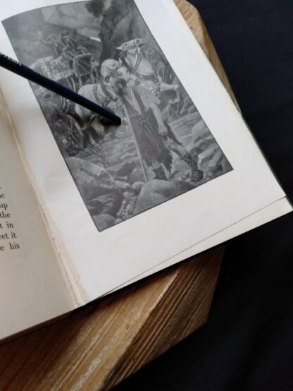 separation of a page inside a 1903 First edition copy of The Golden Windows - A Book Of Fables For Young And Old