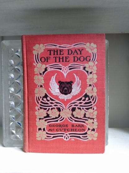 1904 The Day of the Dog by George Barr McCutcheon - First Edition - Front Panel