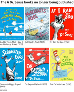 6 Dr. Seuss Books Pulled From Publication