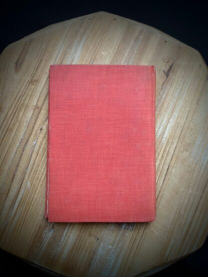 Back panel on a 1904 copy of The Day of the Dog by George Barr McCutcheon - First Edition