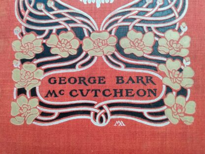 Front panel up close - George Barr McCutcheon - 1904 The Day of the Dog - First Edition