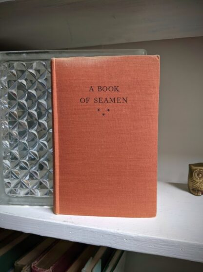 1929 A Book of Seamen by F. H. Doughty - First Edition - Front cover without dustjacket