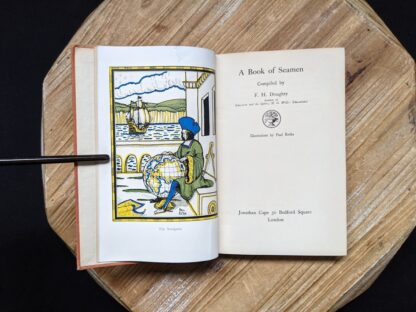 1929 A Book of Seamen by F. H. Doughty - Title page - First Edition