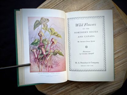 1939 Wild Flowers of the Northern States and Canada by Arthur Craig Quick - First Edition - Title Page