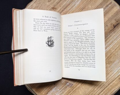 Chapter 3 inside a 1929 copy of A Book of Seamen by F. H. Doughty - First Edition