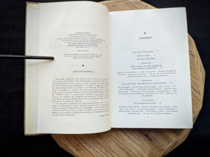 Copyright page inside a 1965 copy of The Sex Life of the Animals by Herbert Wendt - First Printing