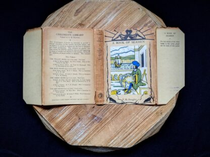 Dustjacket for a 1929 A Book of Seamen by F. H. Doughty - First Edition