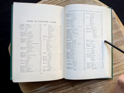Index to Scientific Names - 1939 Wild Flowers of the Northern States and Canada by Arthur Craig Quick